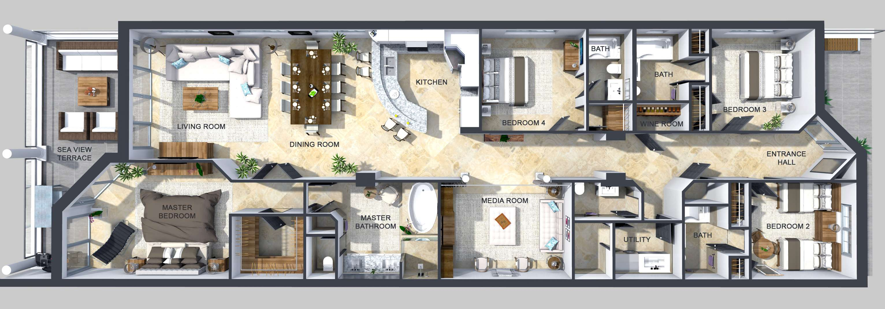 Sea Breeze 8 floor plan